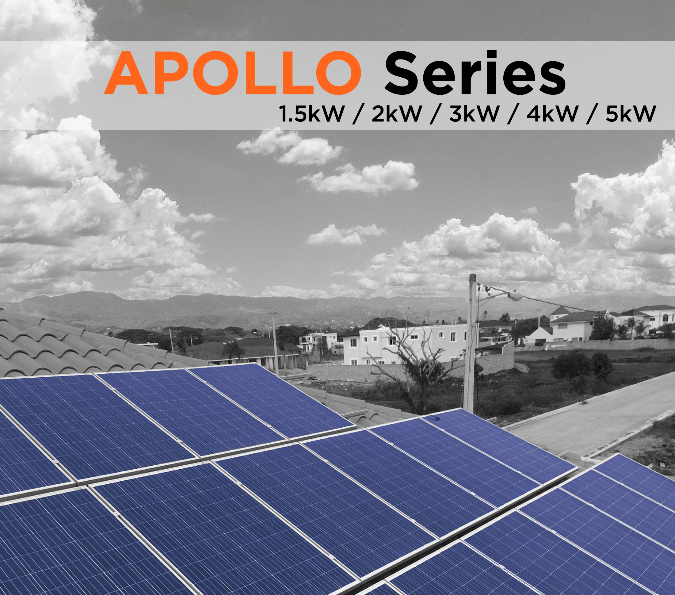 Symtech Solar - Apollo Series Cover - On-Grid Residential