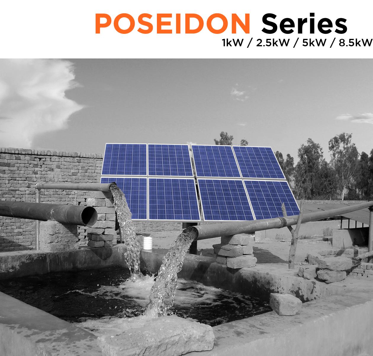 Symtech Solar -  Poseidon Series - Solar Water Pump - Cover