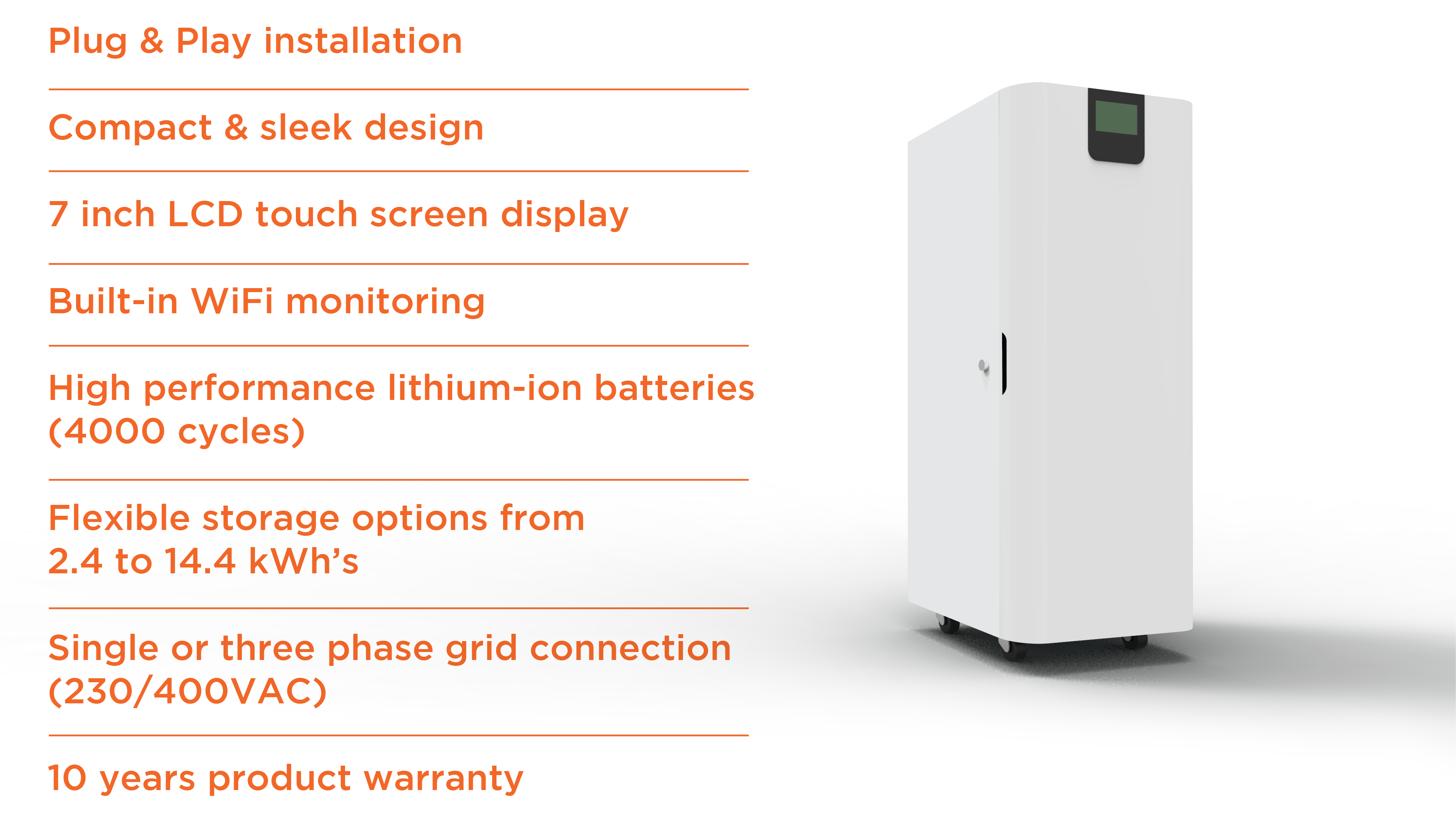 Symtech Solar -  Aurora Series - Hybrid - BC Unit and Features
