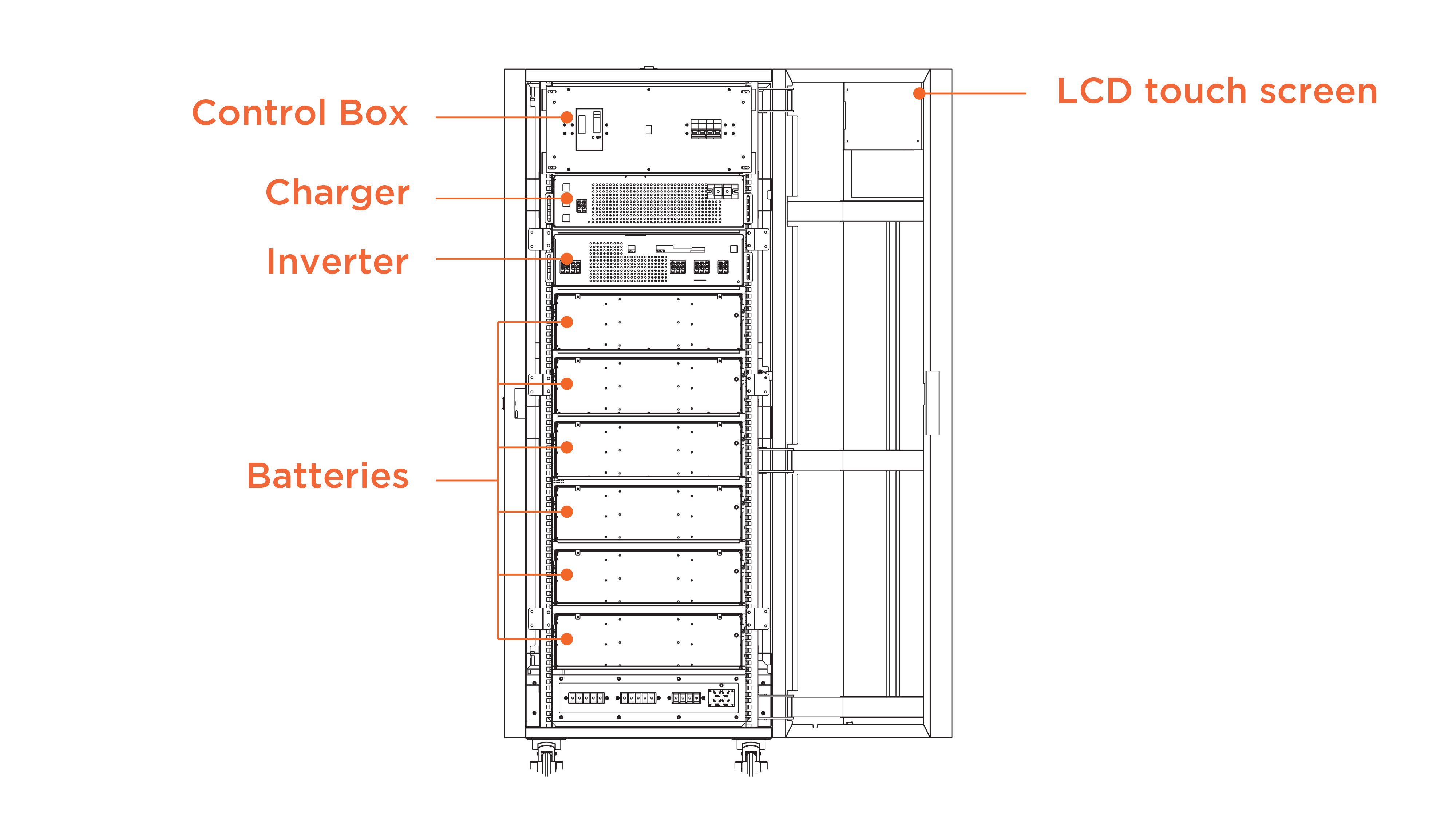 Symtech Solar -  Aurora Series - Hybrid - Drawing