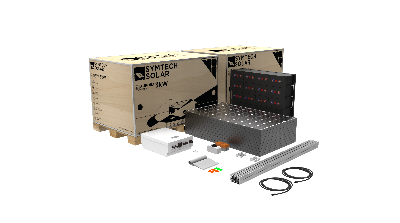 Symtech Solar -  Aurora Series - Hybrid - Kit View