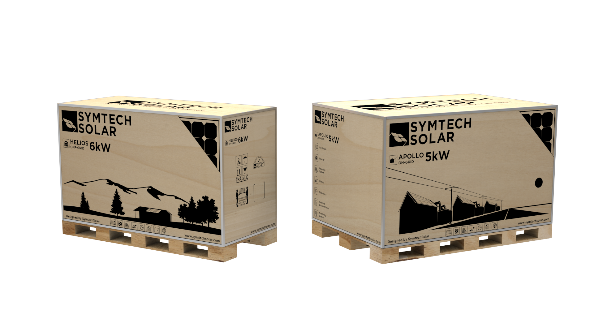 Symtech Solar - Apollo and Helios Boxes