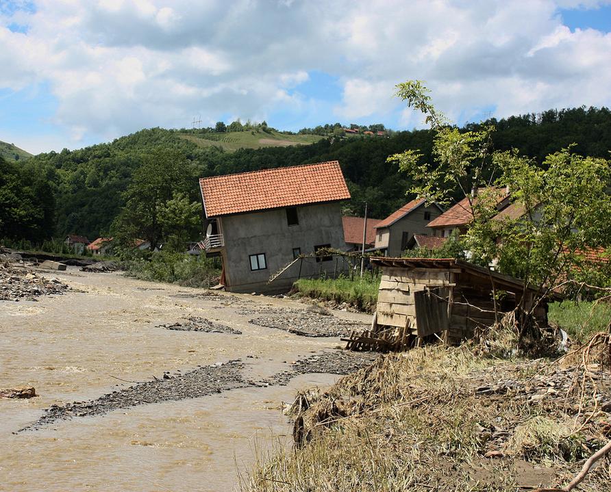 Floods in Balkans
