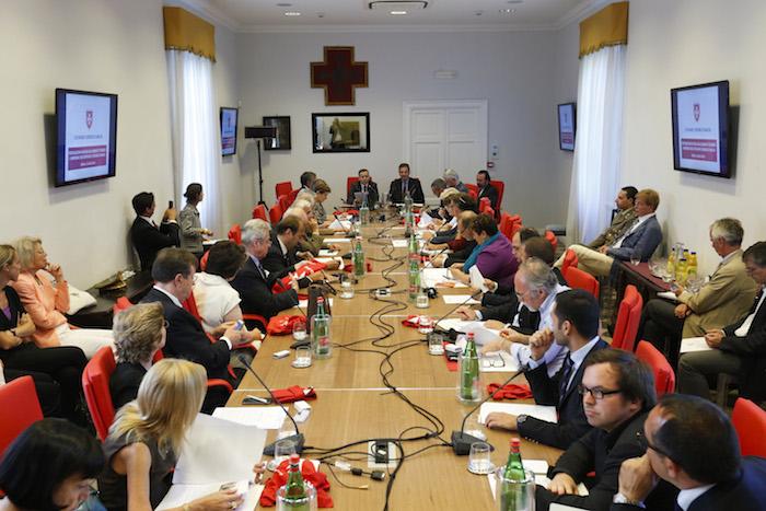 Press conference Rome