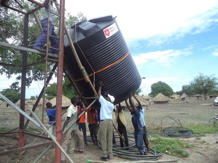 Aid in Uganda