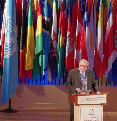 Grand Master at UNESCO