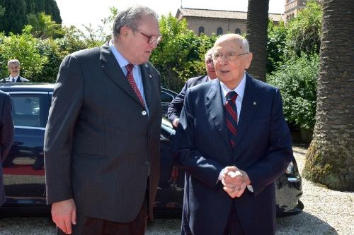 President Napolitano visit