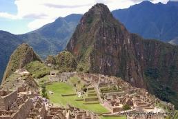 Vy över Macchu Picchu, Peru