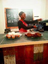 Fairly Square cafe, holborn