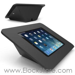 Borne CAPSULE iPad Air 1 2 - Kiosque ROKKU Noir Support CAPSULE - Maclocks 340B257ROKB Elockstore REF00387