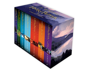 Harry Potter Children's Paperback Boxed Set (New Edition)