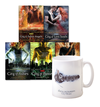 Mortal Instruments Complete Series + The Mortal Instruments (Be strong)  Mug Set