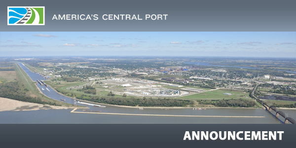 AMERICA'S CENTRAL PORT | Announcement