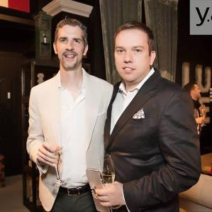 Ivan+Jeff at Luxe Timothy Oulton Event
