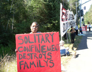 Prisoners protest solitarty confinement
