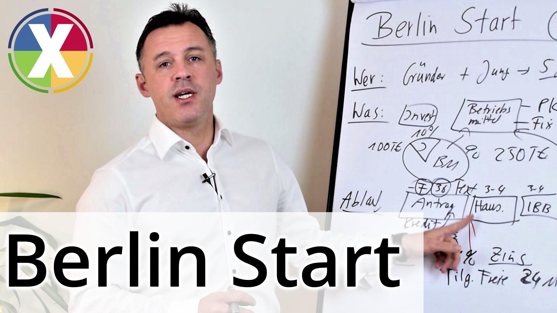Berlin Start: Förderprogramm bis zu 250.000 € für Gründer