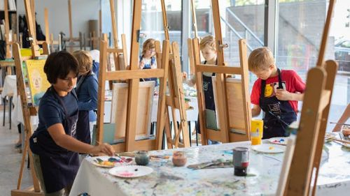 Kinderworkshops in het Van Gogh Museum