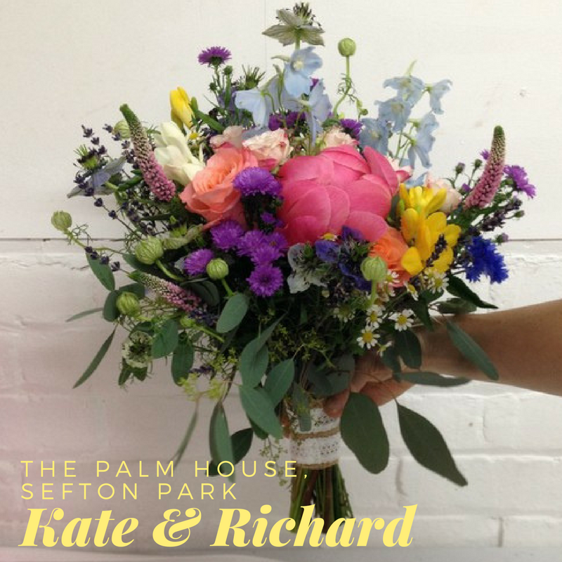 Kate and Richard, The Palm House, Sefton Park