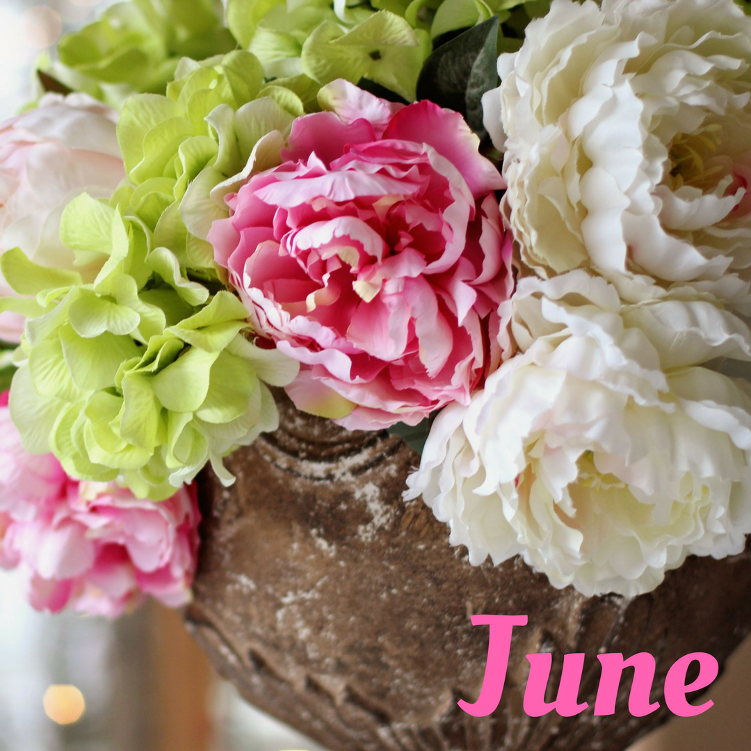 Peony Flower of the Month June 2017