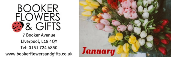 Booker Flowers and Gifts Florists Liverpool, Liverpool Flower Delivery