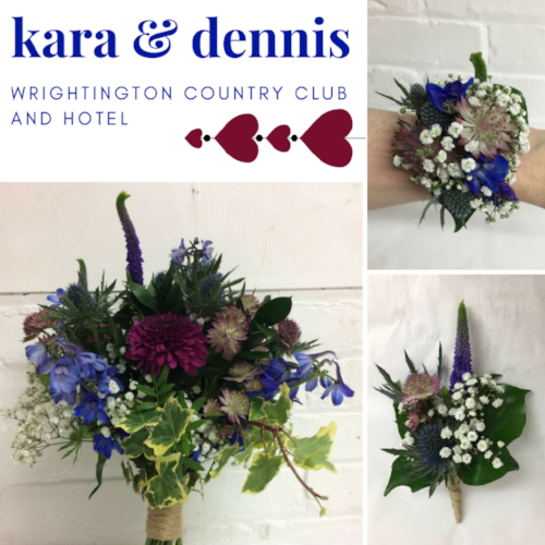 Kara & Dennis wedding at Wrightington Country Club & Hotel, Wigan