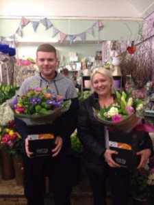 New Staff at Booker Flowers and Gifts Shop