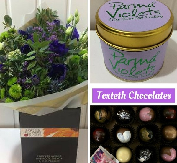 Mothers Day flowers gift set delivered