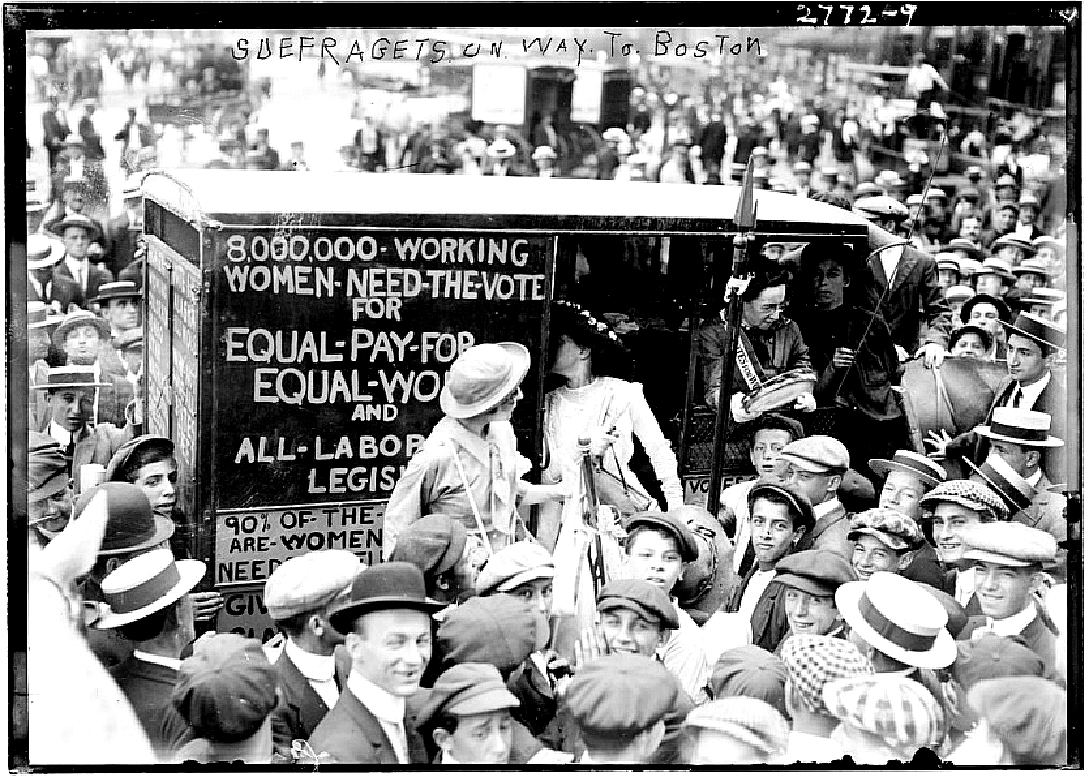 Photo: Suffragettes, 1913