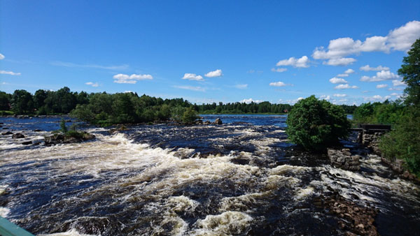 Dalälven River in the Färnebofjärden national park, Sweden