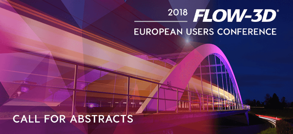 2018 FLOW-3D European Users Conference
