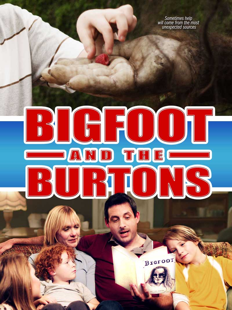 Bigfoot and the Burtons Film Cover