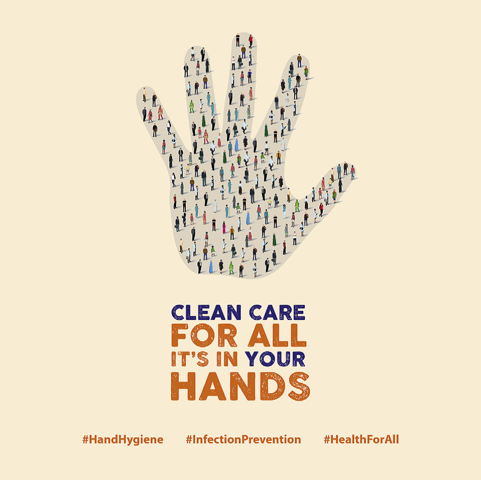 Clean your hands logo image