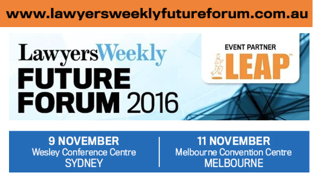 Lawyers Weekly Future Forum 2016