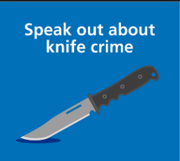 Speak out about knife crime