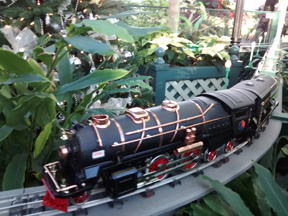 Polar Express Train at the Conservatory