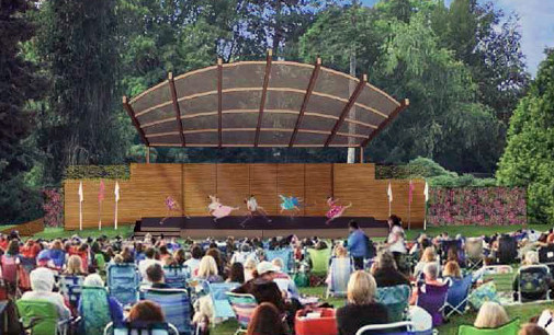 Designs for the new Volunteer Park Amphitheater