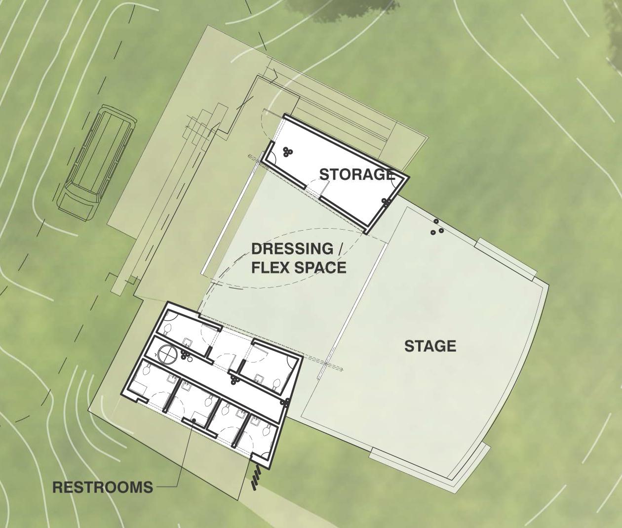 Photo: Amphitheater Plan