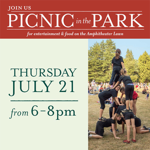 Picnic in the Park is July 21!