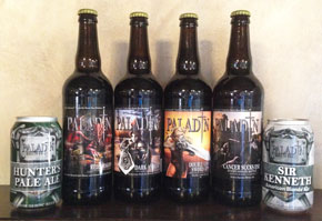 Paladin in cans and bottles!