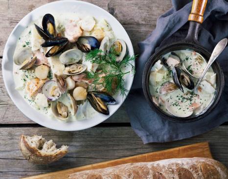 Agricola Street Seafood Chowder