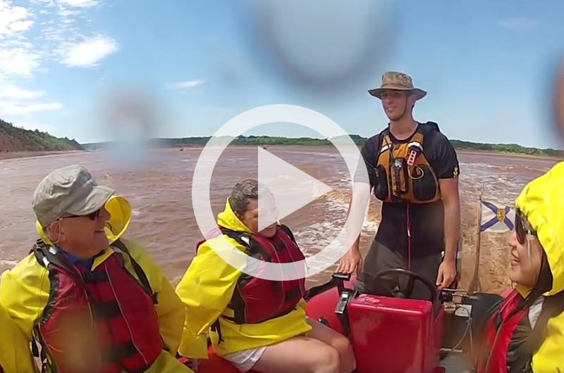 Tidal Bore Rafting in Nova Scotia