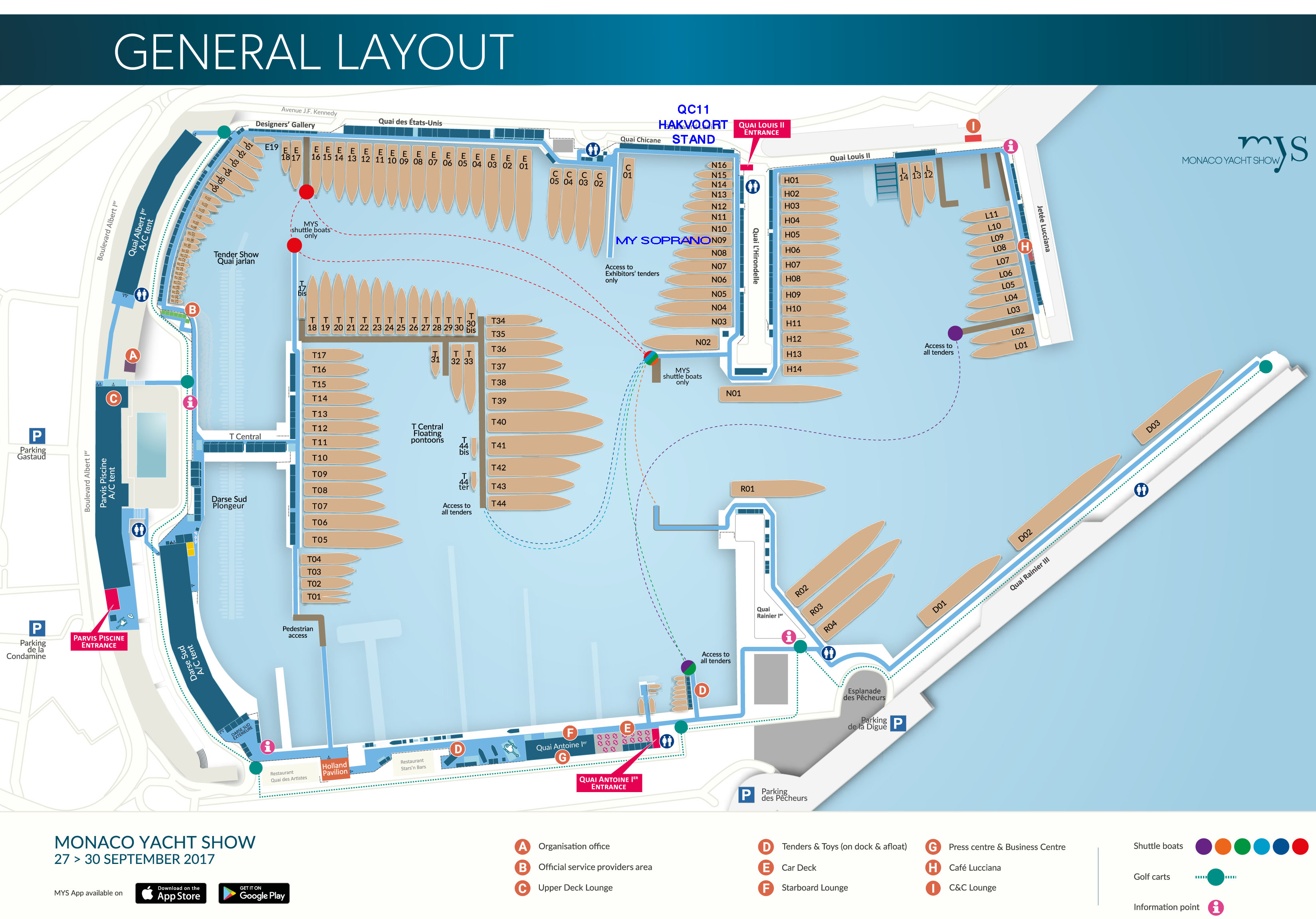 General Layout Plan MYS