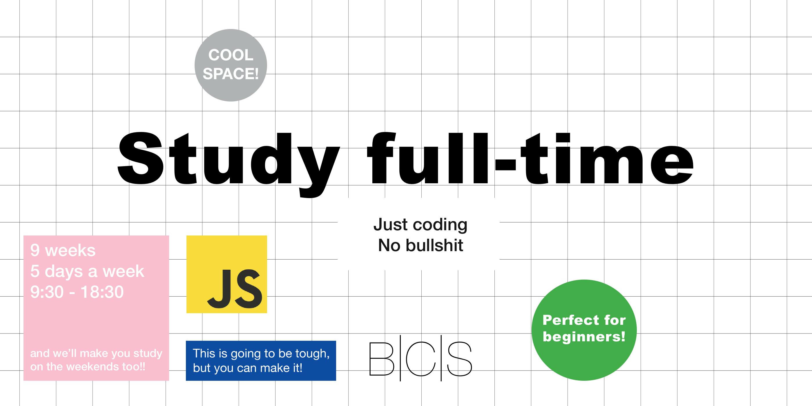 JavaScript Bootcamp at Barcelona Code School
