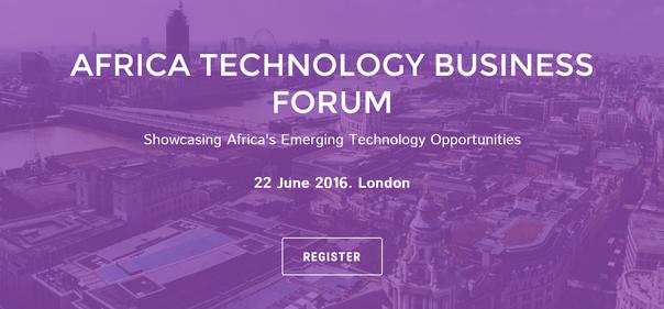 Africa Technology Business Forum Register Banner