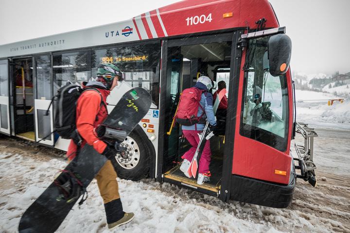 Utah Ski Bus