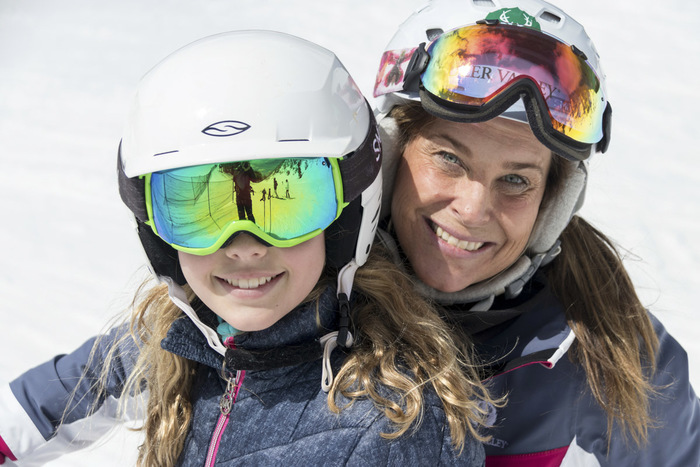 Ski With a Champion