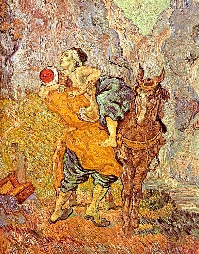Vincent Van Gogh, Il buon Samaritano, 1890