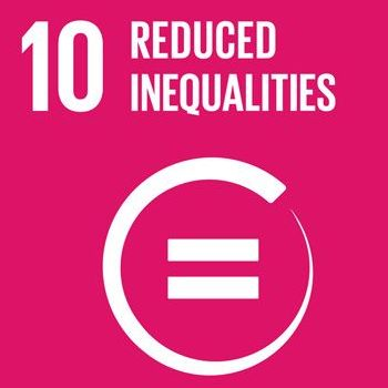 Graphic of and equal sign representing the idea of reduced inequalities.