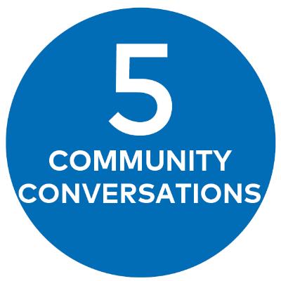 5 COMMUNITY CONVERSATIONS