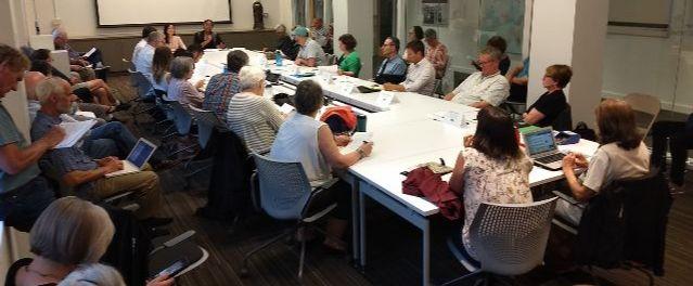 Civic Life staff present at Pearl District Neighborhood Association